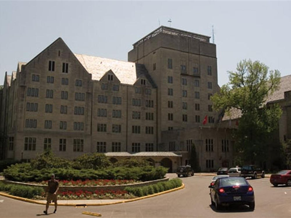 The Indiana Memorial Union, located in the center of campus, is the largest student union building in the U.S.