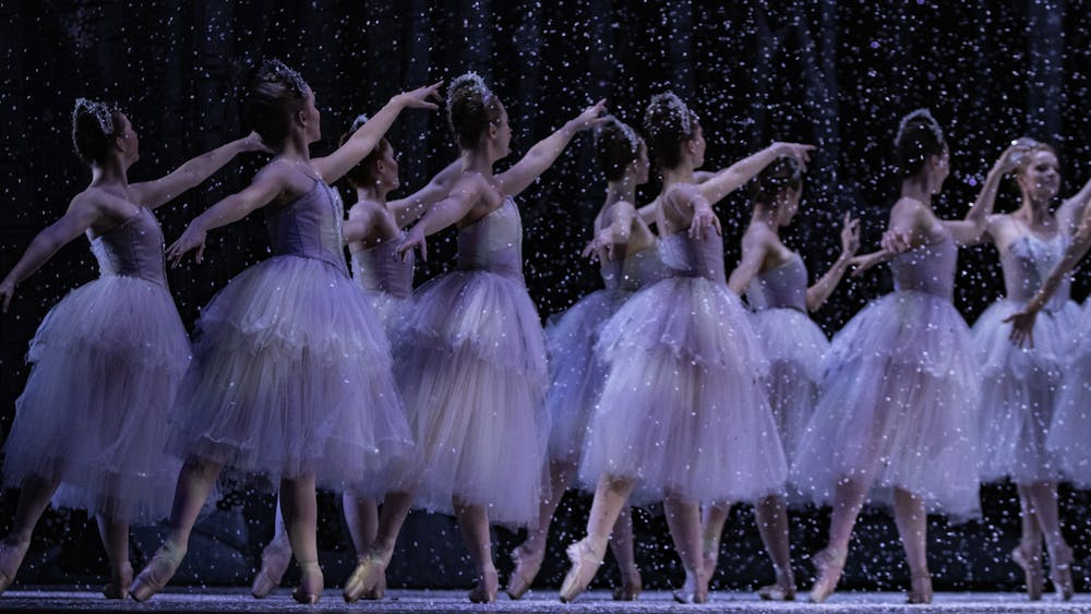 """Dancers perform Dec. 2 at the Musical Arts Center during the dress rehersal for """"The Nutcracker."""" The family-friendly ballet will be showing Dec. 5-8."""