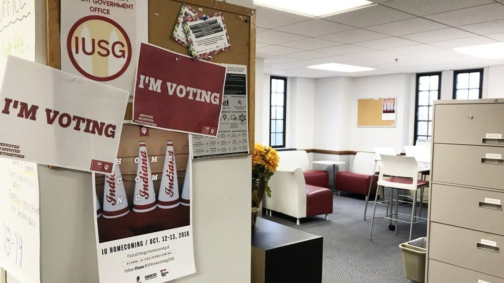 The IU Student Government office is located in the Student Activities Tower of the Indiana Memorial Union. The IUSG Election Commission released the preliminary total number of votes Friday.