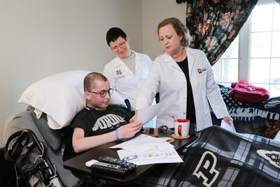 Tyler Trent, a Purdue graduate, donated tumor samples to cancer researchers at the IU School of Medicine. Trent died Jan. 1, 2019, after his third relapse of osteosarcoma.