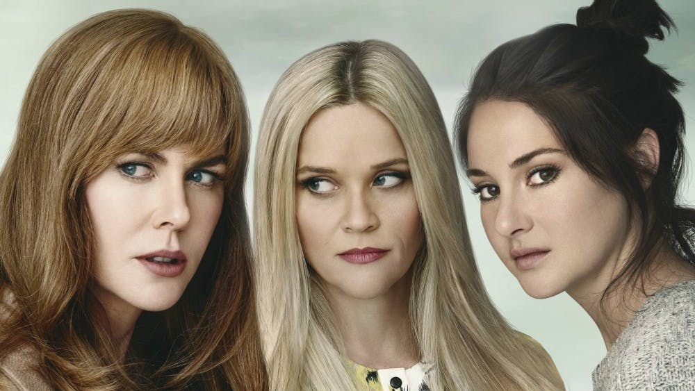 """Nicole Kidman, Reese Witherspoon & Shailene Woodley star in the American drama series """"Big Little Lies."""""""