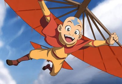 "Aang, voiced by Zach Tyler Eisen, is the titular Avatar in Nickelodeon's ""Avatar: The Last Airbender."""