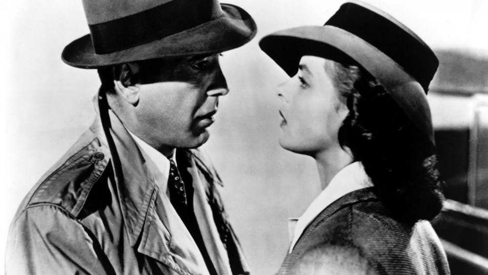 """The 1942 film """"Casablanca"""" will be shown at 7 p.m. at the Buskirk-Chumley Theater. The theater chose """"Casablanca"""" as this year's classic film for Valentine's Day."""