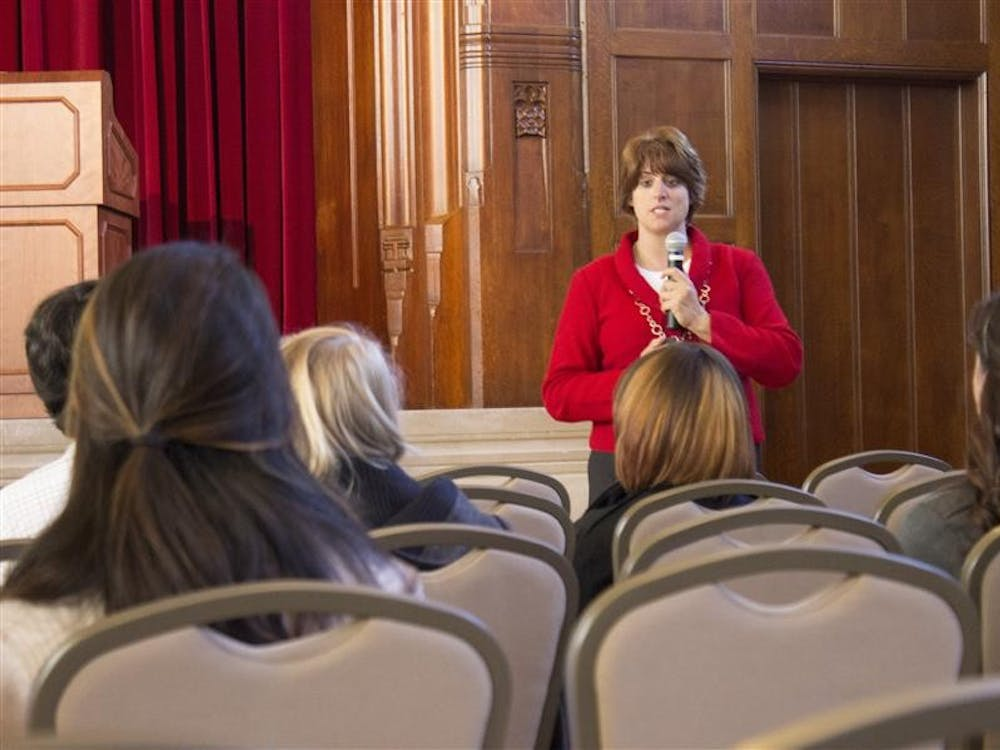 Students participate in workshops during IU's First Diversity Conference on Friday at the Indiana Memorial Union.