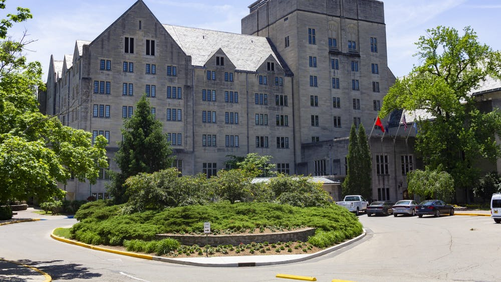 The Biddle Hotel is located at 900 E. Seventh St. and is attached to the Indiana Memorial Union. The hotel will have 186 rooms available for students for the upcoming academic year.