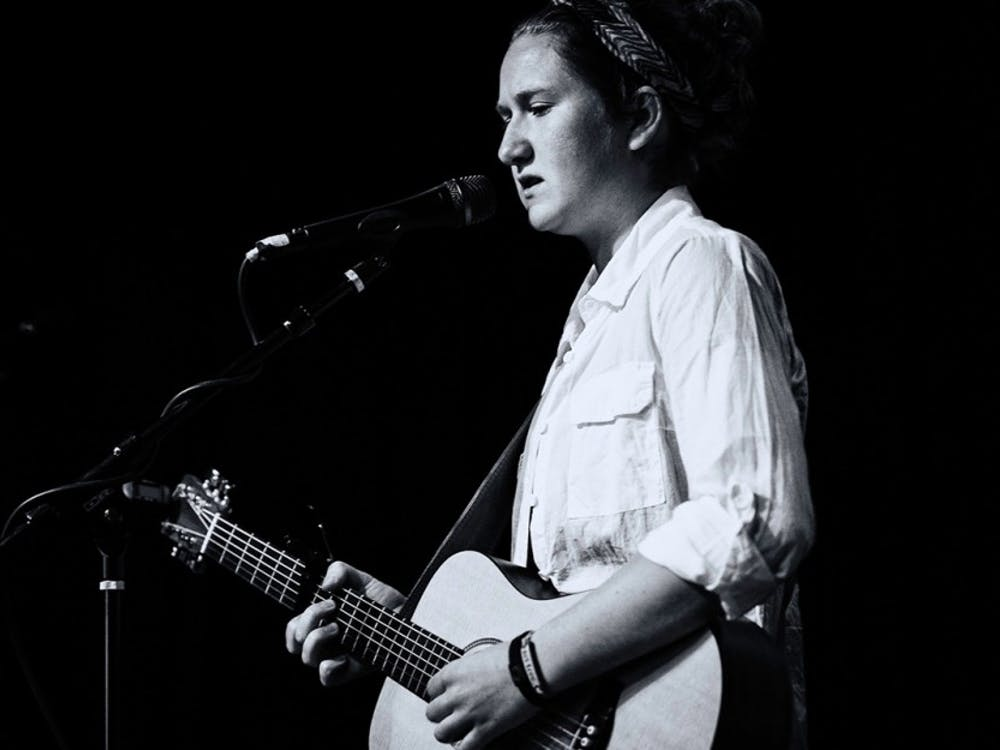 """Junior Kacie Swierk has performed original music around Bloomington since last fall and will release her first single this weekend. The debut of her only single """"Bonfire Blues"""" will be followed by a single release celebration at Jefferson Street Music Studio."""