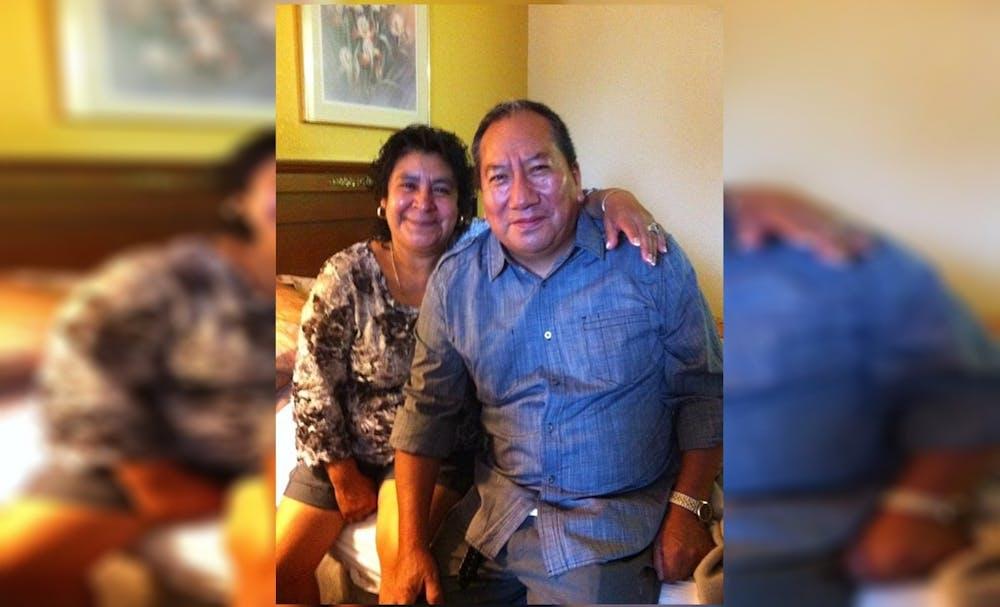 <p>Maria A. Marquez with her husband Alejandro Eduardo Pani Tecuapetla. Eduardo was well known in the Bloomington community, his daughter said. </p><p></p>