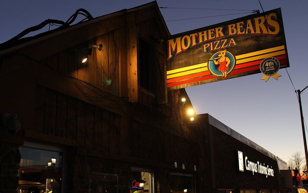 <p>Mother Bear&#x27;s Pizza Campus is located at 1428 E. Third St. Bloomington businesses, including Mother Bear&#x27;s, served more customers than usual during graduation weekend.</p><p></p>