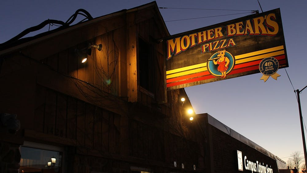 Mother Bear's Pizza Campus is located at 1428 E. Third St. Bloomington businesses, including Mother Bear's, served more customers than usual during graduation weekend.