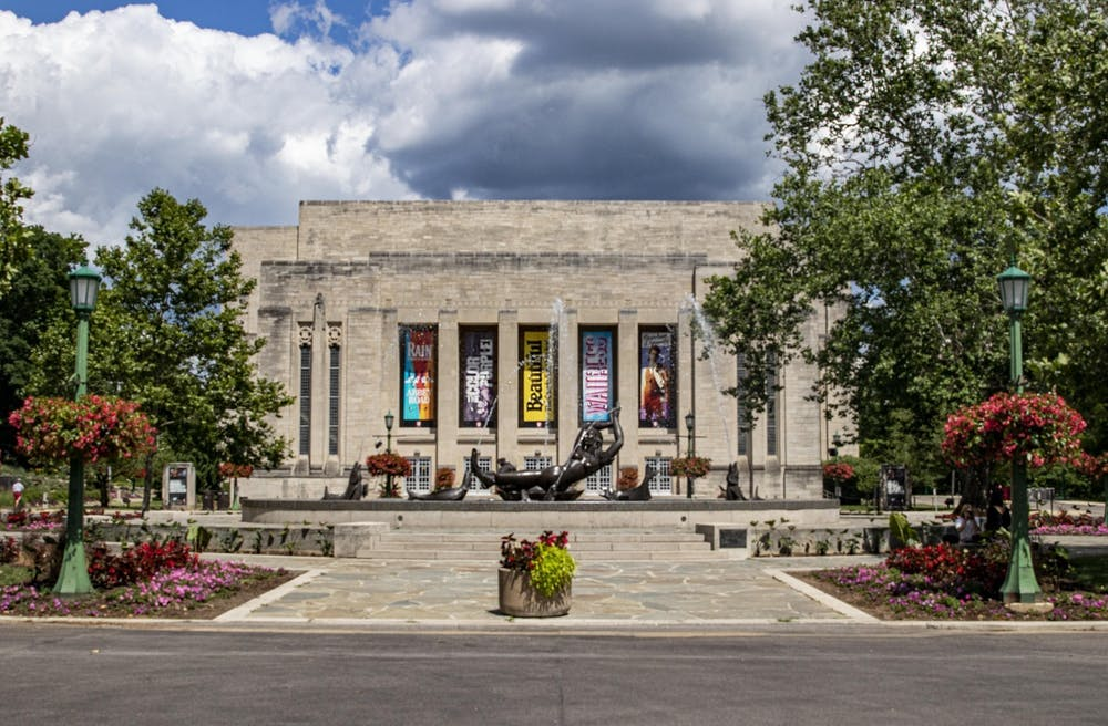 The IU Auditorium is located at 1211 E. Seventh St. Tickets for the next IU Auditorium season will go on sale to the public Aug. 16.
