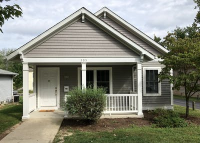 A rentable house by Grant Properties is available at 205 S. Jefferson St.