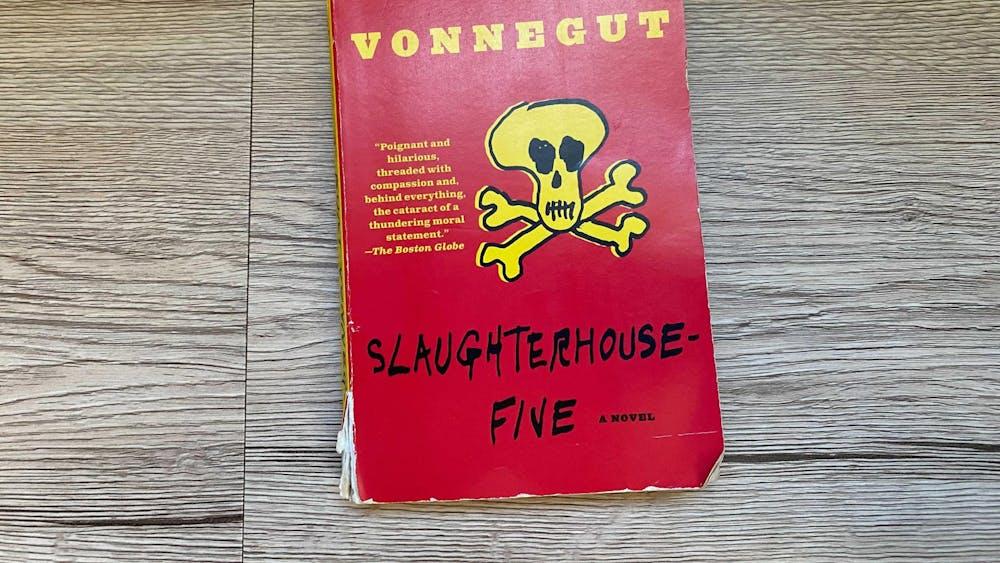 """""""Slaughterhouse-Five"""" is a Kurt Vonnegut novel following the life of Billy Pilgrim. Banned Books Awareness Week runs from Sept. 26 to Oct. 2."""