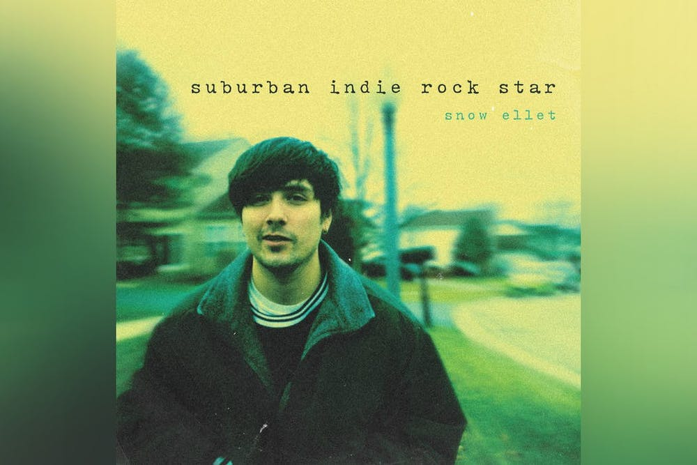 <p>The album cover of &quot;Suburban Indie Rock Star,&quot; snow ellet&#x27;s debut, is pictured. &quot;Suburban Indie Rock Star&quot; was released March 19.</p>