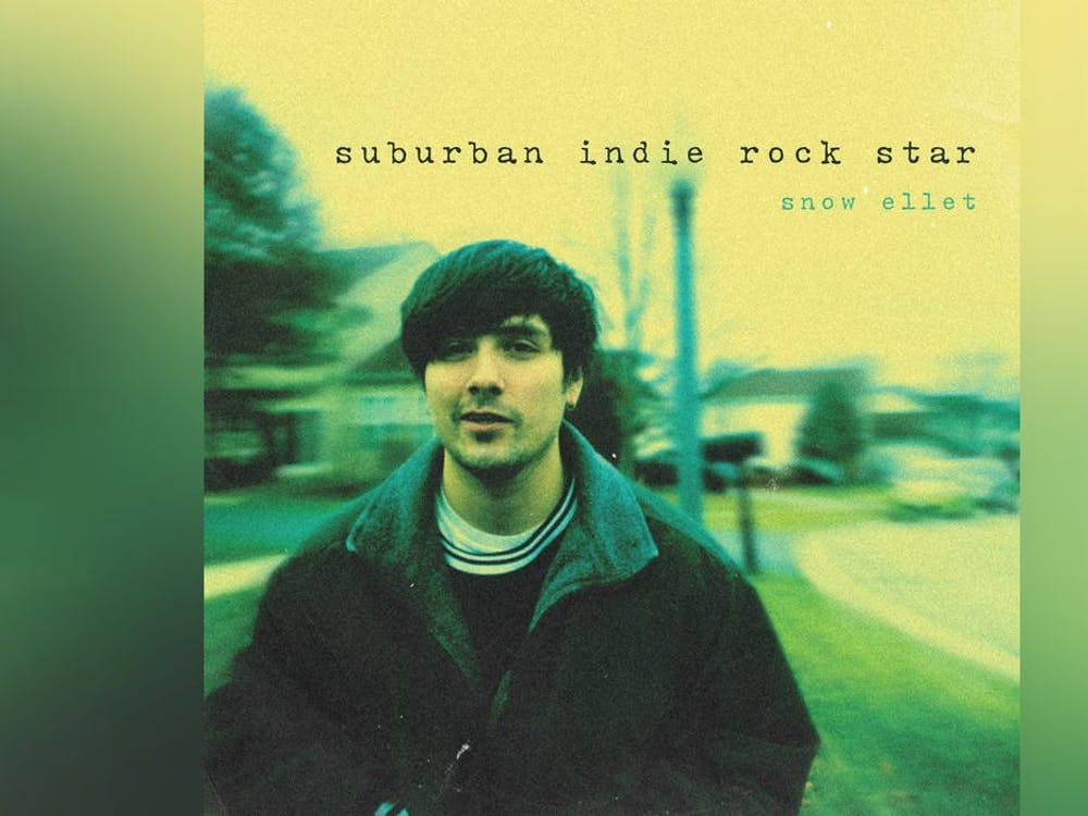 """The album cover of """"Suburban Indie Rock Star,"""" snow ellet's debut, is pictured. """"Suburban Indie Rock Star"""" was released March 19."""