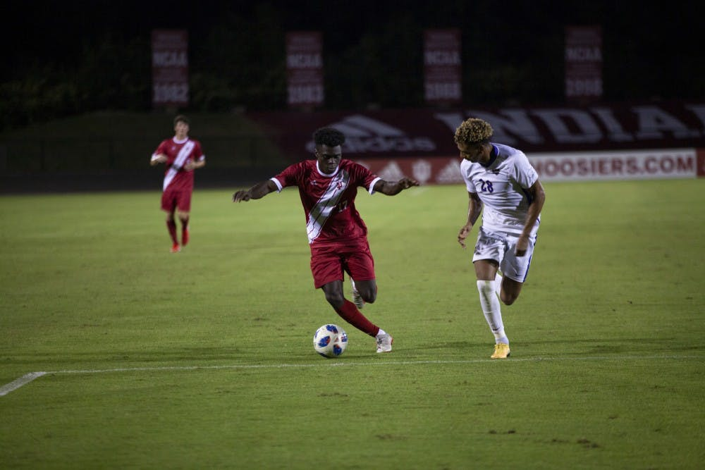 No  2 IU men's soccer overcomes physical Pittsburgh in