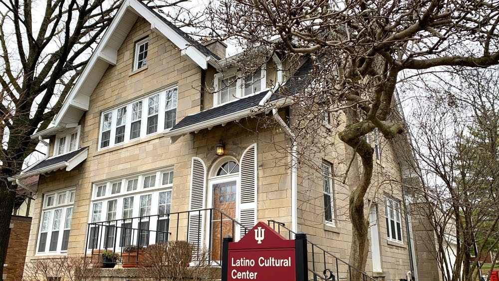 The outside of the La Casa Latino Cultural Center is seen Jan. 12. It is located at 715 E. 7th St.