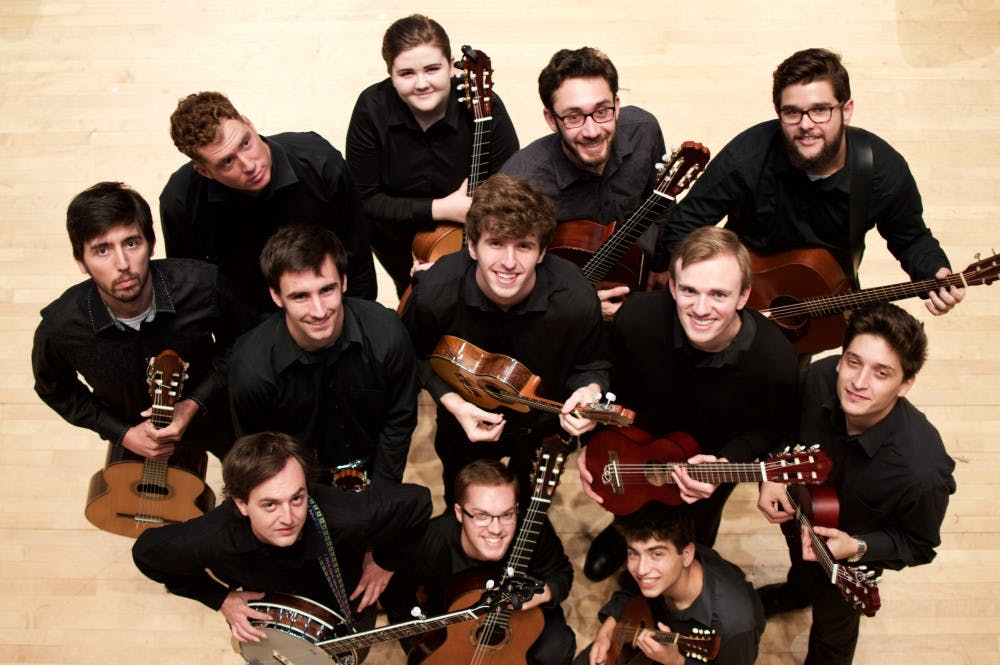 """<p>IU students will perform music from Disney movies and award-winning films at the """"Guitar Ensemble Plays the Movies"""" concert at 8 p.m. April 6 in Auer Hall. </p><p></p>"""