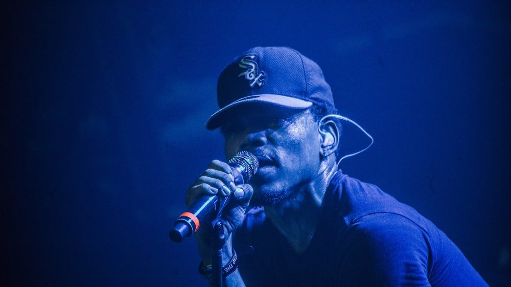 Chance the Rapper performs in the Social Experiment at the Austin Music Hall on March 20, 2015, in Austin, Texas. (Lenny Gilmore/RedEye/Chicago Tribune/TNS)
