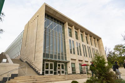 IU's School of Public and Environmental Affairs, known to students as SPEA, has been renamed after former secretary of the U.S. Treasury Paul H. O'Neill in honor of his career and $30 million gift to the school.