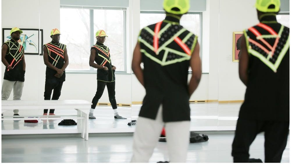 Members of the African American Dance Company rehearse. A free Zoom panel will take place March 19 and will be moderated by current African American Dance Company director Stafford Berry Jr. and former director Iris Rosa.