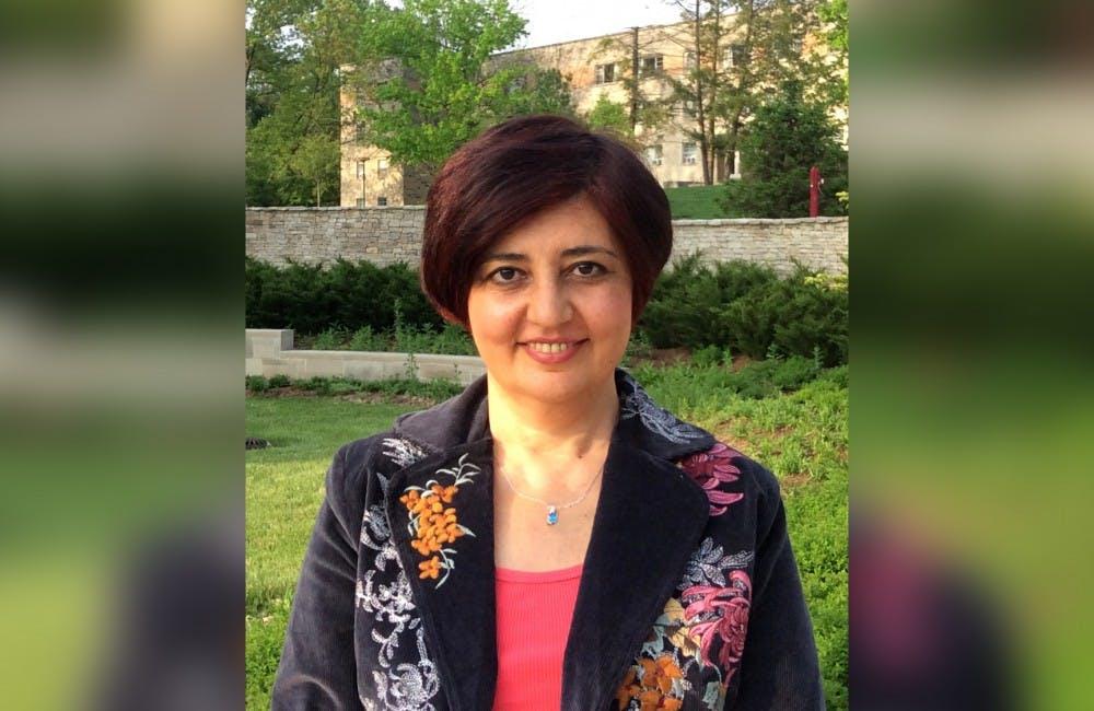 <p>Aida Huseynova, lecturer in music in general studies. &nbsp;</p>
