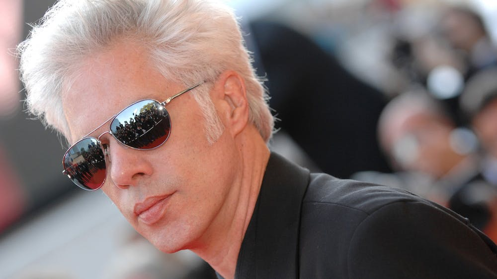 """Director Jim Jarmusch arrives at the Palais des Festivals for the gala screening of """"Chacun Son Cinema"""" on May 20, 2007, in Cannes, France. The Cicada Cinema will feature three films directed by Jarmusch throughout  January at The Blockhouse Bar, Hopscotch Coffee and The Wood Shop, Upland Brewing Co.."""