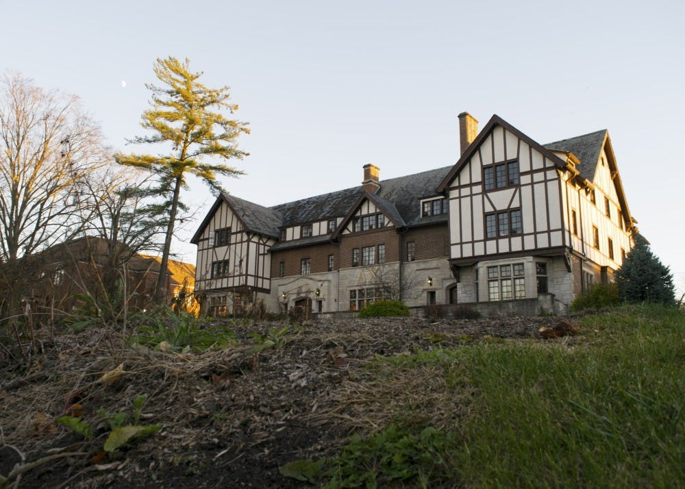 <p>Delta &nbsp;Chi's house is located on Third Street. The fraternity was suspended due to violations of the IU student code of conduct and the Greek Agreement regarding hazing, IU Spokesperson Chuck Carney said in an email.&nbsp;</p>