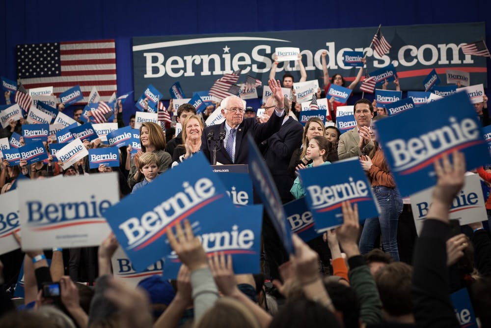 <p>Sen. Bernie Sanders, I-Vt., narrowly wins the New Hampshire primary.</p>