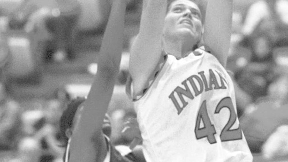 Fomer IU women's basketball forward Rachelle Bostic played for the Hoosiers from 1981-84. Bostic is one of six former IU athletes that will be inducted into the IU Athletics Hall of Fame on Nov. 9.