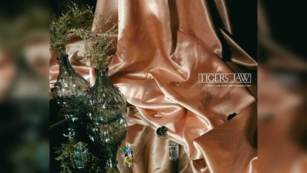 """The cover art for Tigers Jaw single """"New Detroit"""" appears. The song was released Saturday."""