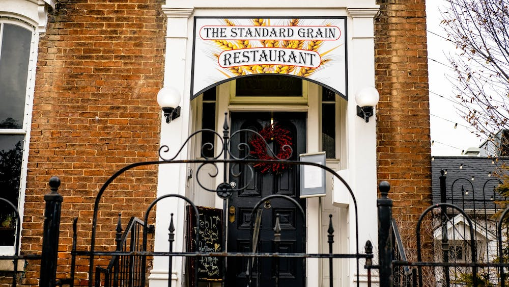The Standard Grain Restaurant sits Feb. 2 at 403 N. Walnut St. The restaurant will open with a special dinner on Valentine's Day.