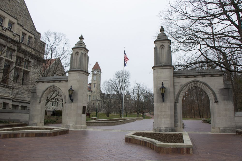 <p>The Sample Gates appear Jan. 11. The IU Board of Trustees has approved the university's $4 billion budget for the 2021-2022 school year in a vote of nine to zero.</p>