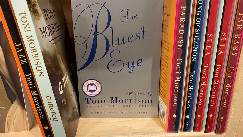 "Toni Morrison released her novel ""The Bluest Eye"" in 1970."