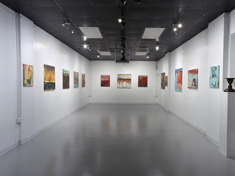 Dimensions Gallery is an exhibition space within Artisan Alley, offering events, classes, concerts, and retail to the community. Dimensions showcases a variety of work from paintings and digital art to photography.