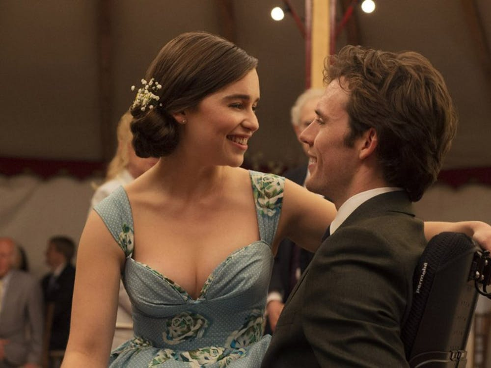 "Emilia Clarke and Sam Claflin in ""Me Before You."" (Photo courtesy Metro-Goldwyn-Mayer/TNS)"