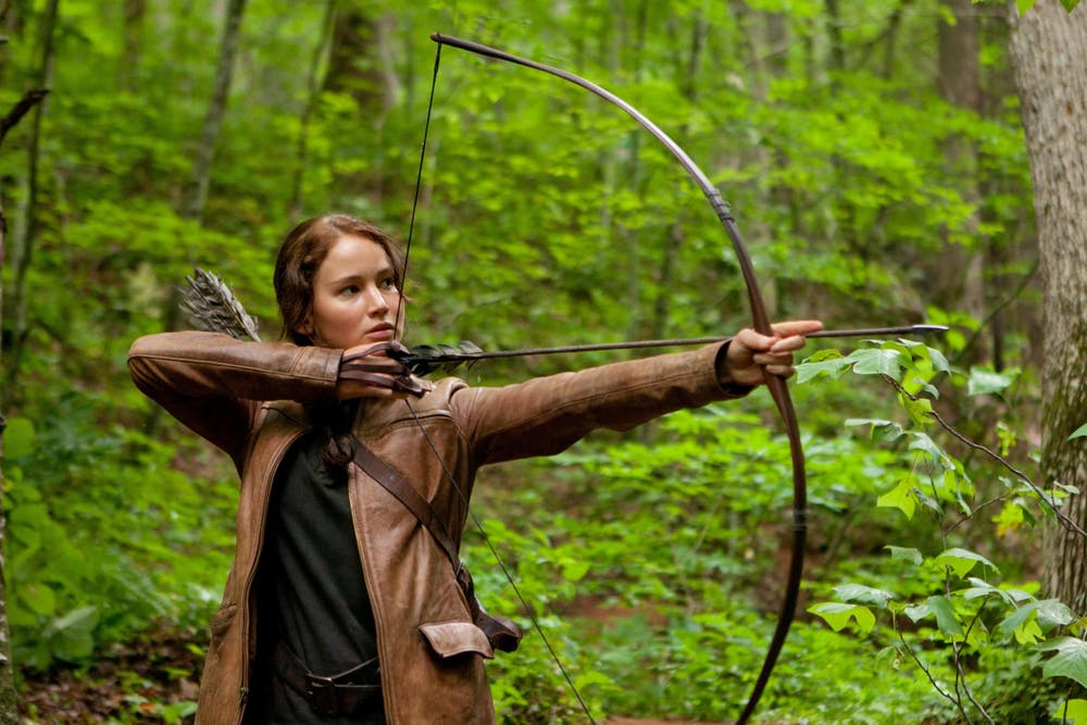 <p>Jennifer Lawrence stars in &quot;The Hunger Games,&quot; released March 23, 2012.</p>