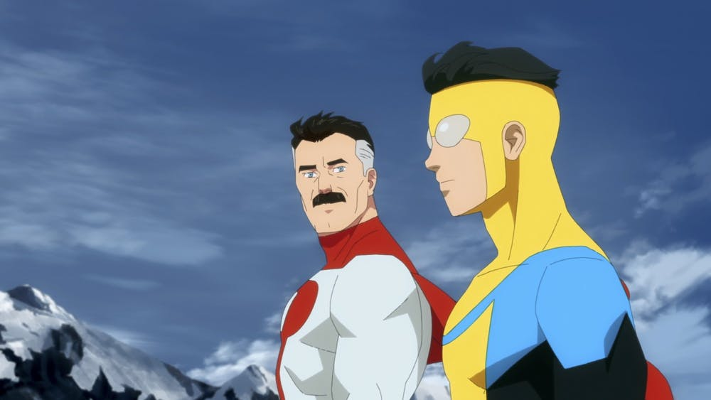<p>Omniman and Invincible appear in Amazon&#x27;s &quot;Invincible&quot;. The series is available on Amazon Prime Video.</p>