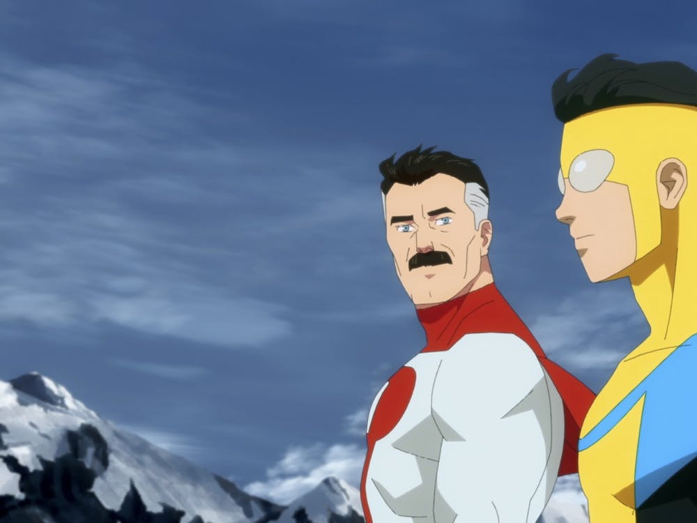 """Omniman and Invincible appear in Amazon's """"Invincible"""". The series is available on Amazon Prime Video."""