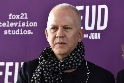 "Creator Ryan Murphy attends a tastemaker event for FX Network's ""Feud"" at the Rainbow Room on Feb. 14, 2017, in New York City."