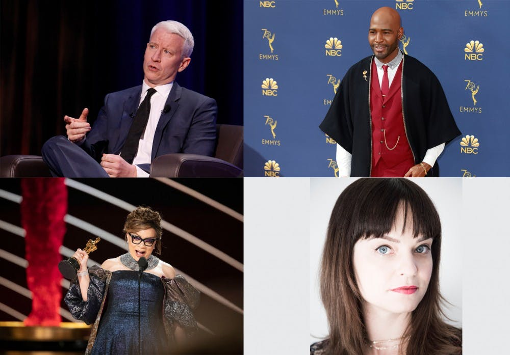 <p>Anderson Cooper, Karamo Brown, Ruth Carter and Penny Lane will all be speaking on campus as a part of the Indiana Memorial Union Board&#x27;s 2019 fall lecture series.</p>