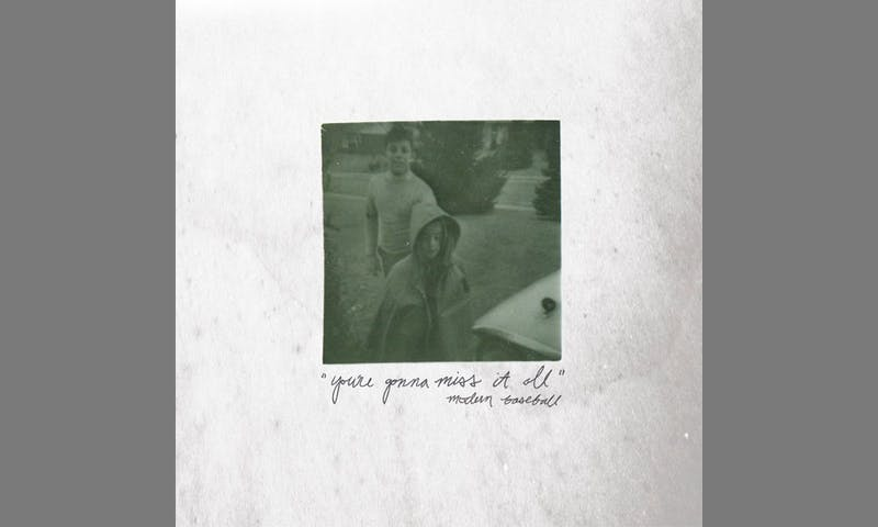 "Album art for Modern Baseball's LP, ""You're Gonna Miss It All."""