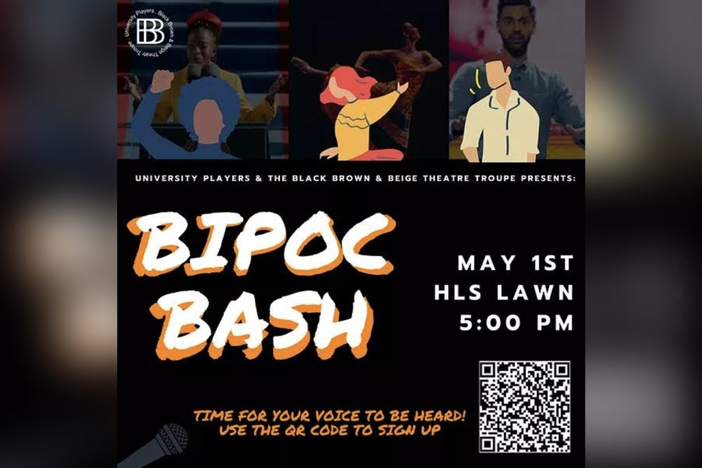 <p>University Players and the Black, Brown and Beige Theatre Troupe will present their BIPOC Bash fundraiser 5 p.m. May 1 on the Hamilton Lugar School of Global and International Studies&#x27; lawn. </p><p><br/></p>
