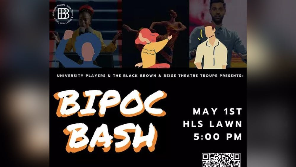 University Players and the Black, Brown and Beige Theatre Troupe will present their BIPOC Bash fundraiser 5 p.m. May 1 on the Hamilton Lugar School of Global and International Studies' lawn.
