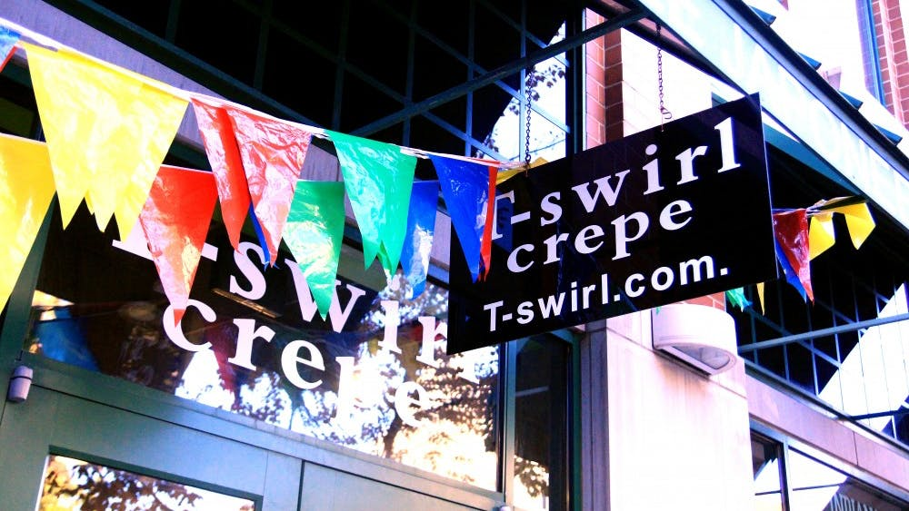 T-Swirl Crepe recently opened a location on Kirkwood Avenue. The franchise started in New York.