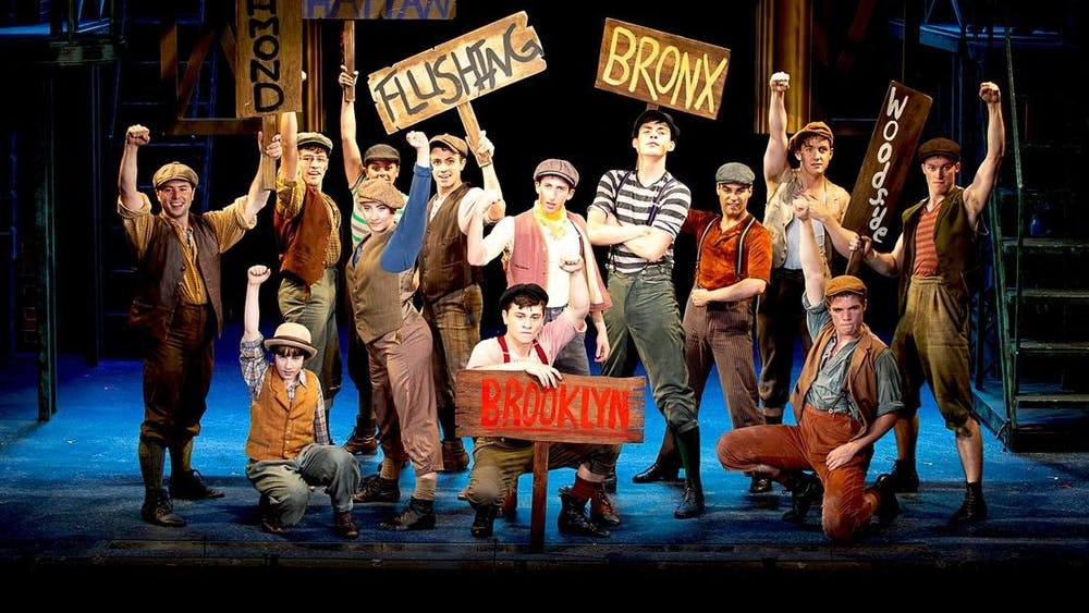"""The Buskirk-Chumley Theater will show Disney's """"Newsies"""" as its 13th annual family holiday musical from Dec. 12-29."""