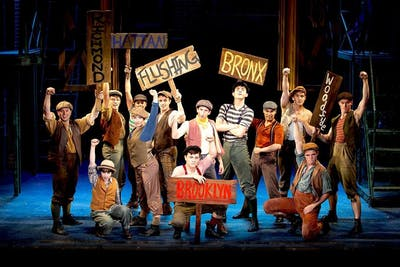 "The Buskirk-Chumley Theater will show Disney's ""Newsies"" as its 13th annual family holiday musical from Dec. 12-29."