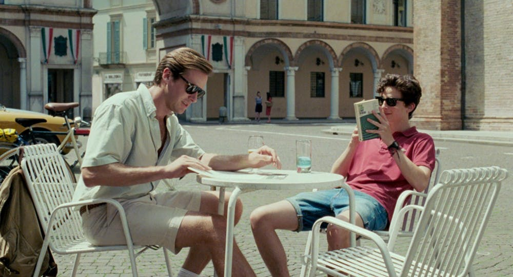 """<p>""""Call Me By Your Name"""" was released Jan. 19 and stars Timothée Chalamet and Armie Hammer.</p>"""
