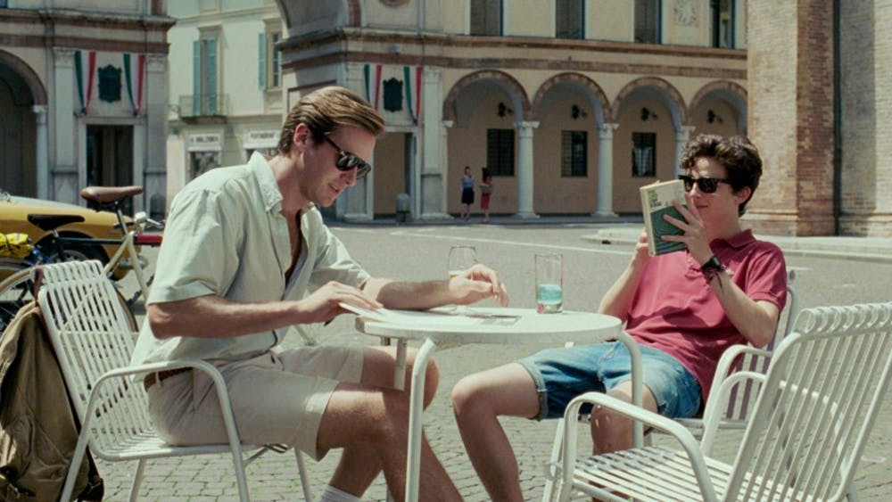 """""""Call Me By Your Name"""" was released Jan. 19 and stars Timothée Chalamet and Armie Hammer."""