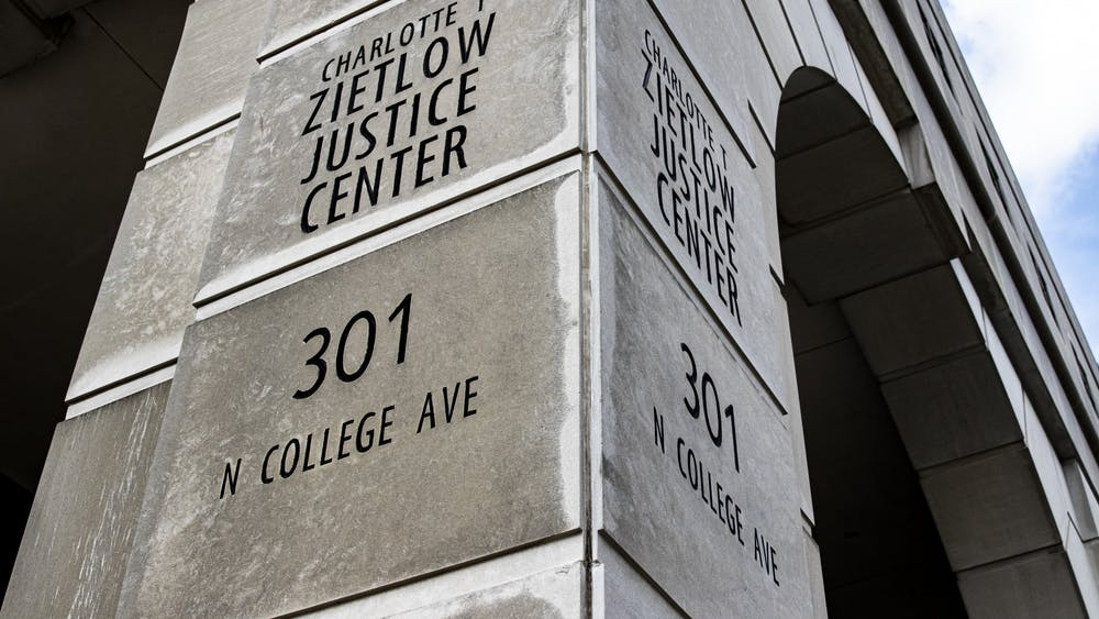 The Zietlow Justice Center is located at 301 N. College Avenue. Monroe County Jail began releasing inmates around March 17 to avoid a COVID-19 outbreak within the jail.
