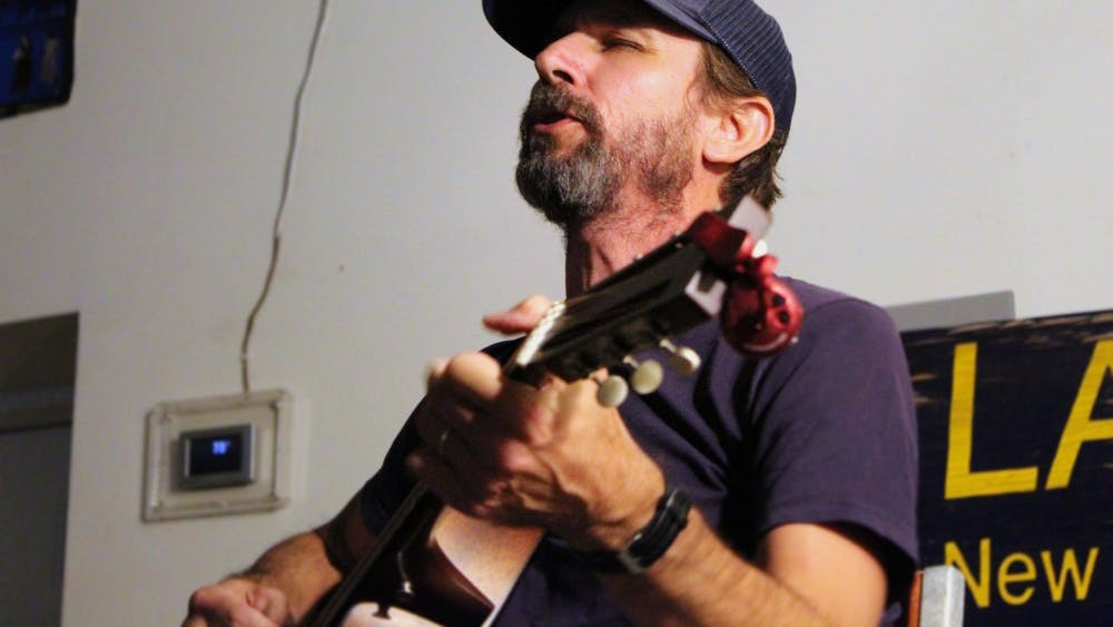 """Musician Will Johnson performs Sept. 10 at Landlocked Music. One of the songs he performed was titled, """"Cornelius."""""""